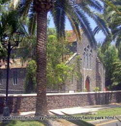 Tenerife Anglican Church of all Saints at Taoro Puerto de la Cruz