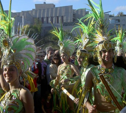 Tenerife attractions carnival with warm and welcoming smiles