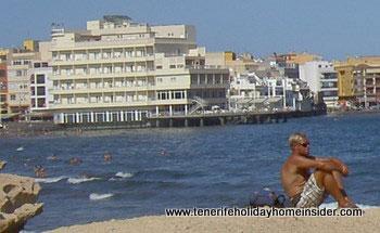 Tenerife beach hotel el Medano Spain