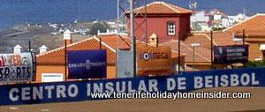 Tenerife beisbol Puerto de la Cruz