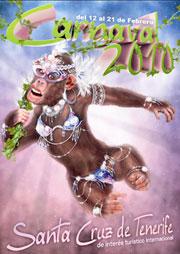 Tenerife carnival 2010 darwin theme evolution