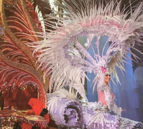 Tenerife Carnival queen of 2018 Carmen Laura Lourido