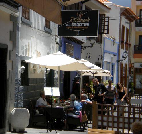 Tenerife events New year's eve dinners at Restaurante Mil Sabores Puerto de la Cruz.
