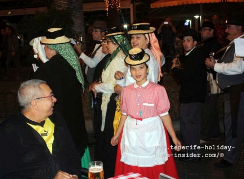 Tenerife events by Christmas Villancicos of street music all over the island almost daily