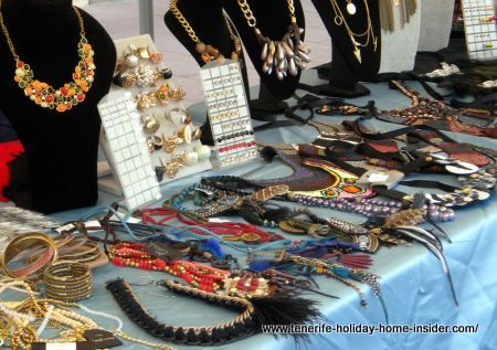 Tenerife fashion jewelry and crafts