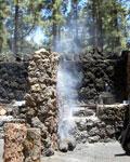 Tenerife public grill place La Caldera by Orotava
