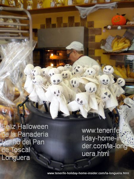 Tenerife Halloween best wishes by Horno del Pan Toscal Realejos