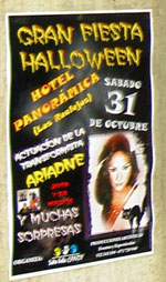 Tenerife Halloween Party of Hotel Panoramica Gardens