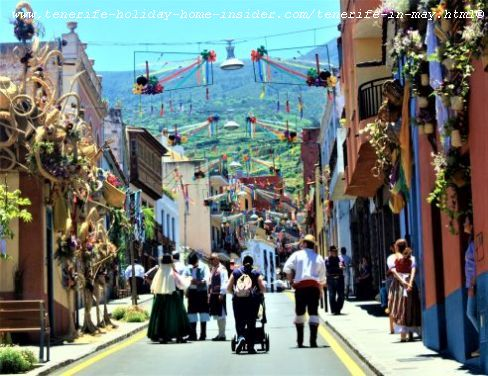Tenerife in May in highly picturesque Los Realejos festivals