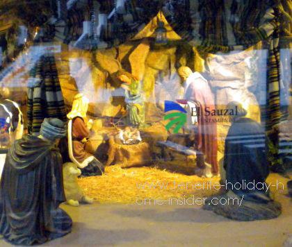 Tenerife nativity scene Belem