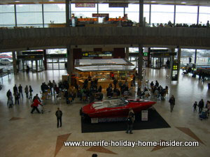 Tenerife North airport Los Rodeos TFN Spain