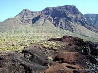 Tenerife Northwest coast behind Los Gigantes