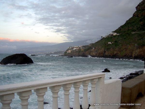 Tenerife beaches Las Aguas San Juan Rambla