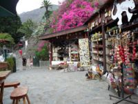Tenerife souvenirs shop of Masca