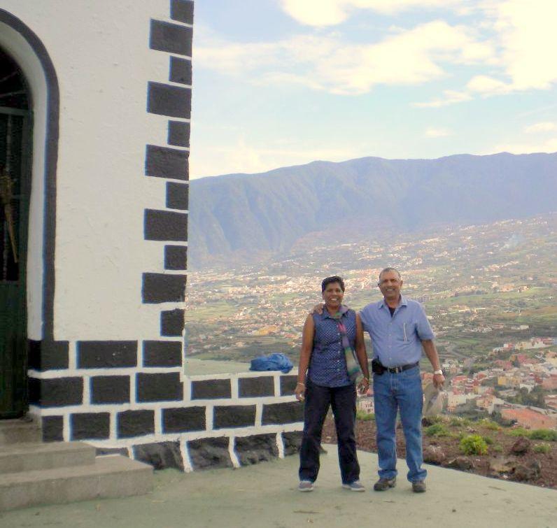 Tenerife volcano climbers