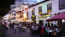 Hub of the Carnival gay parade of Tenerife
