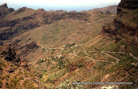 TF 436 serpentine Buenaviste Norte Masca Santiago del Teide