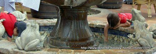 Things to do in Tenerife, as seen by the fountain of El Monasterio Restaurante El Mirador.