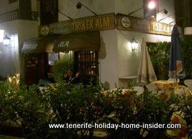 Restaurant Tiroler Alm Puerto de la Cruz Tenerife