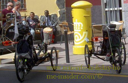Toscal Longuera village musicians