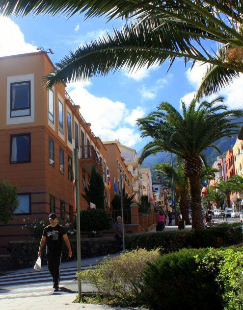 Town Hall Realejo Alto on top of Avda.Canaria.