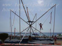 Trampolin jumping Playa las Americas Tenerife