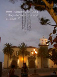 Tree decoration of Christmas Garachico town square