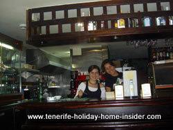 triangular bar 7 Islas La Laguna Tenerife