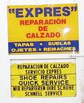 Trilingual billboard by cobbler