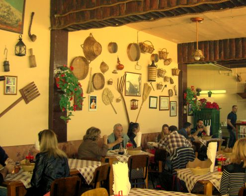 Former Santa Ursula Guachinche upgraded to traditional Restaurant for eating native