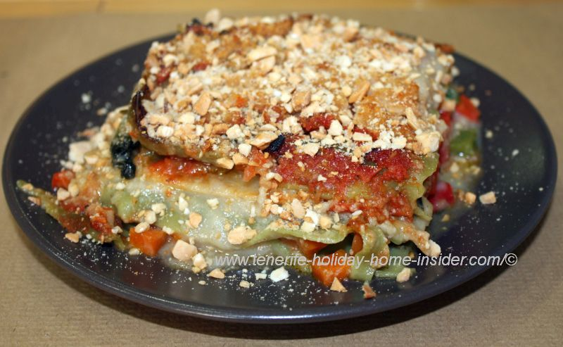 Vegan Lasagna by Café Malaika