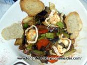 Vegetable stir fry wok vegetarian dish