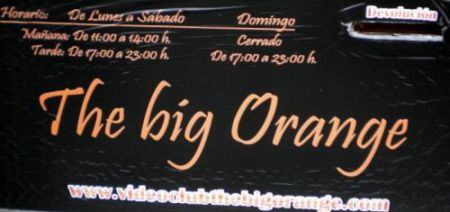 Video club The Big Orange Punkt Com Billboard