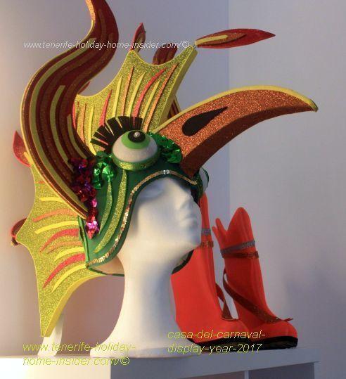 Viking Helmet with Carnival flair of Casa del Carnaval.
