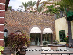 Village flair within Hotel Mirador Tenerife