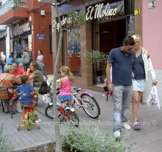 Village life Toscal Longuera