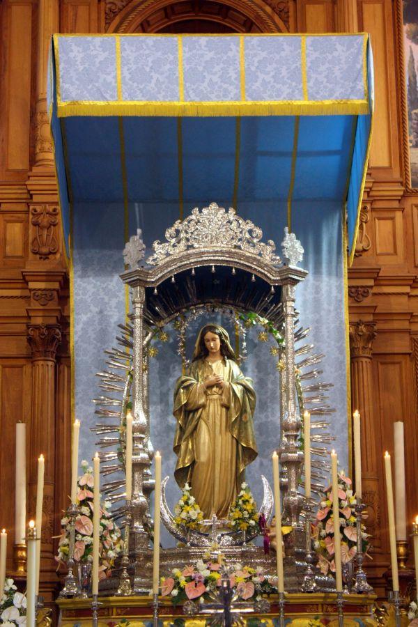 Virgin of divine conception.