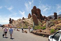 Walking Tenerife by Teide car park