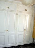 Wardrobe-design of a Tenerife bedroom