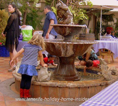 Water attractions at Restaurante El Mirador El Monasterio