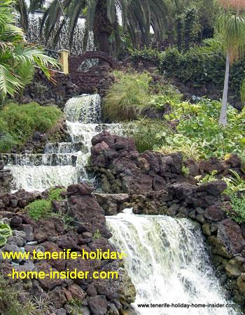Waterfall design Taoro Park