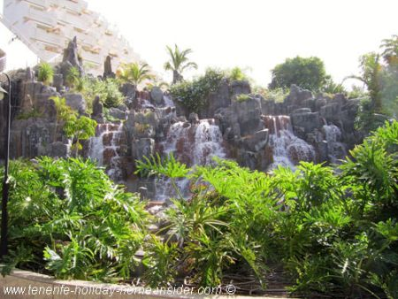 Waterfall Hotel Barcelo in Los Gigantes