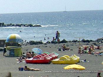 Watersports Tenerife by beach Playa de las Americas May 2011