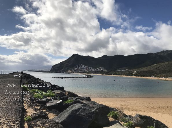 The Tenerife weather at Teresitas on November 19, 2018, in the afternoon