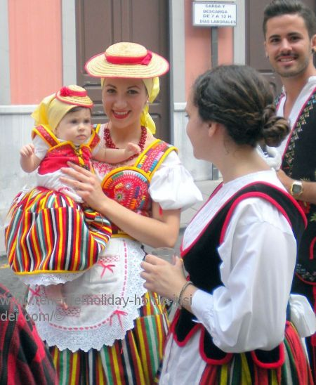 Tenerife festivals Romerias with most heart warming smiles for tourists.