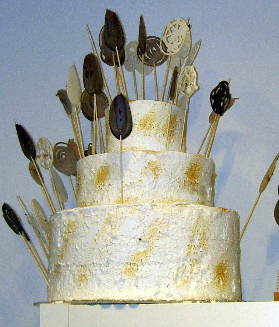 White chocolate Cake of Tenerife Buenavista del Norte chef.