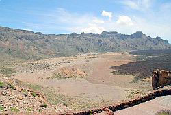 Wildwest terrain Teide 'Moonlanding' filming