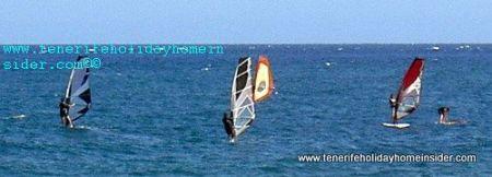 Windsurfing in El Medano Tenerife