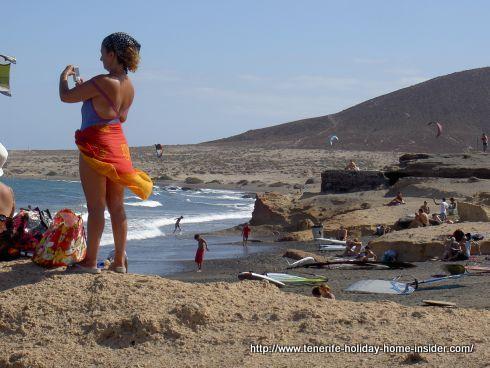 Windy El Medano surf paradise