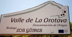 Wine quality badge of origin from La Orotava.